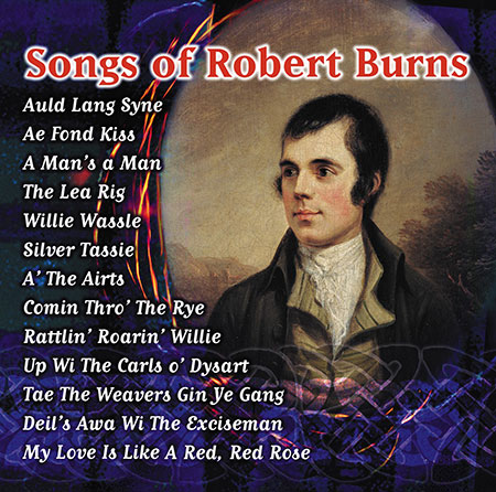 news article for Robert Burns song CDs for Burns Night