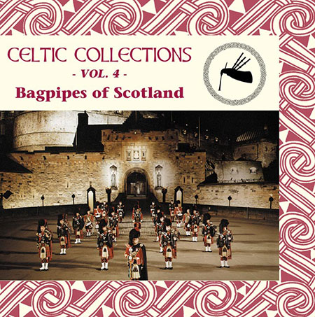 cover image for Bagpipes Of Scotland (Celtic Collections vol 4)