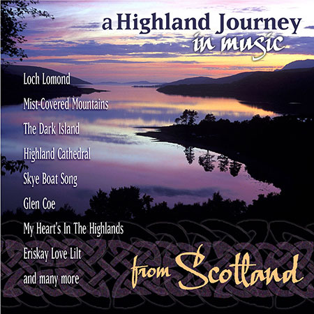 cover image for A Highland Journey In Music From Scotland