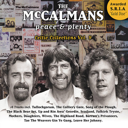 cover image for The McCalmans - Peace And Plenty