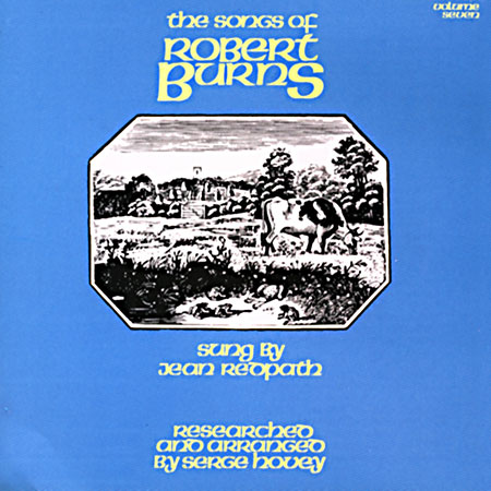 cover image for Jean Redpath - Songs Of Robert Burns vol 7