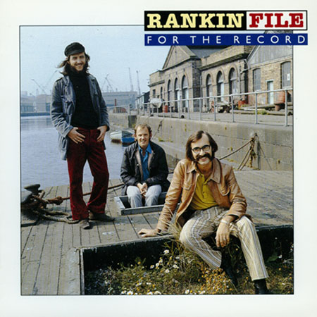 cover image for Rankin File - For The Record