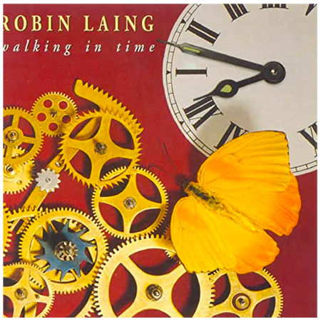 cover image for Robin Laing - Walking In Time