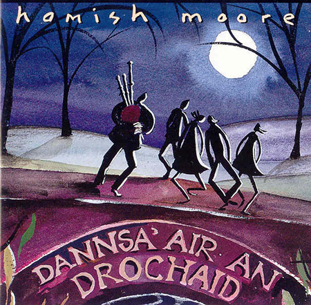 cover image for Hamish Moore - Stepping On The Bridge