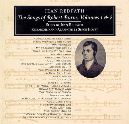 cover image for Jean Redpath - Songs Of Robert Burns vols 1 & 2