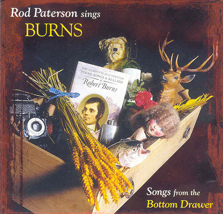 cover image for Rod Paterson - Sings Burns (Songs From The Bottom Drawer)