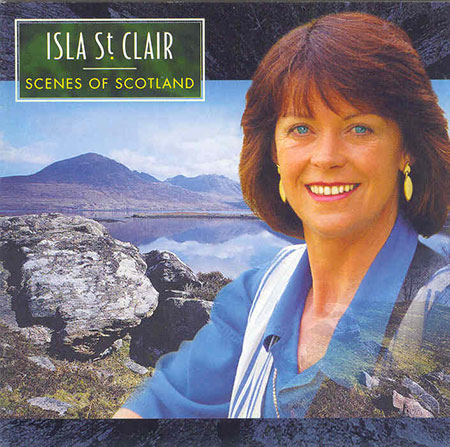 cover image for Isla St Clair - Scenes Of Scotland