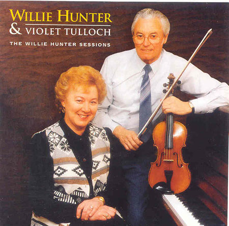 cover image for Willie Hunter - The Willie Hunter Sessions