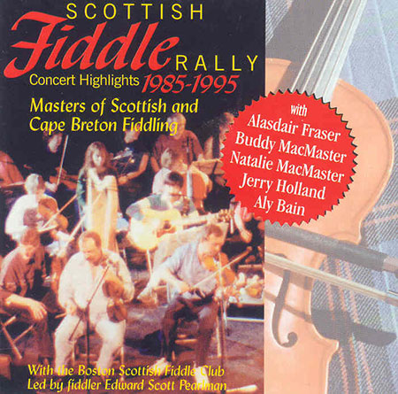cover image for Scottish Fiddle Rally (Concert Highlights 1985-1995)
