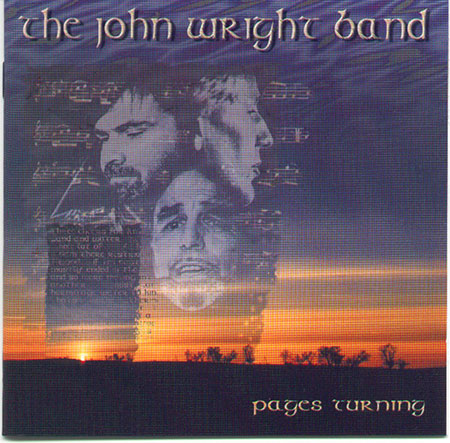 cover image for The John Wright Band - Pages Turning
