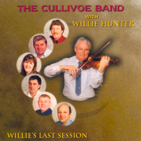 cover image for Willie Hunter - Willie's Last Session (with The Cullivoe Band)