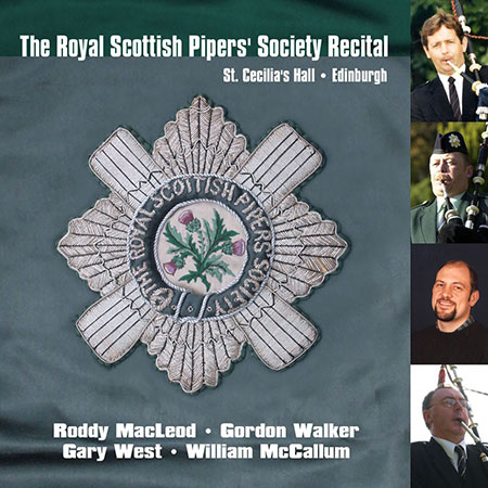 cover image for The Royal Scottish Pipers' Society Recital