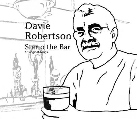 cover image for Davie Robertson - Star O' The Bar