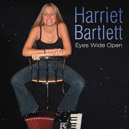 cover image for Harriet Bartlett - Eyes Wide Open