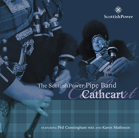 cover image for The ScottishPower Pipe Band - Cathcart