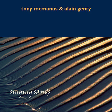 cover image for Tony McManus & Alain Genty - Singing Sands