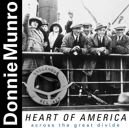 cover image for Donnie Munro - Heart Of America (Across The Great Divide)