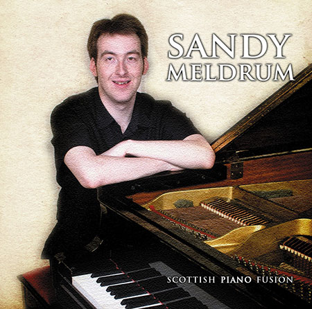 cover image for Sandy Meldrum - Scottish Piano Fusion