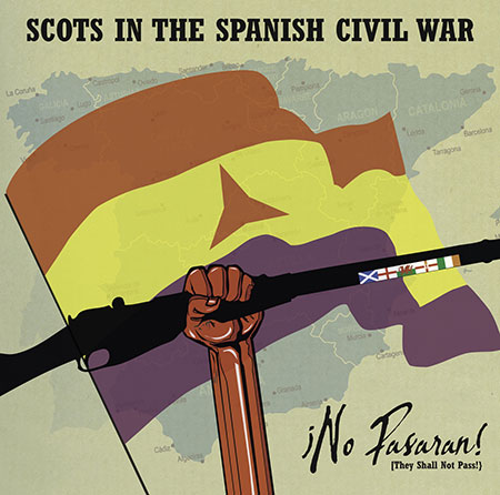 cover image for Scots In The Spanish Civil War