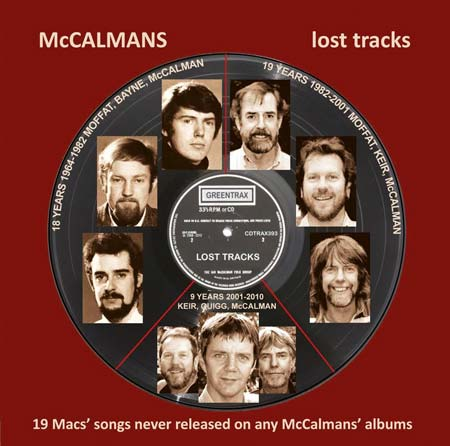 cover image for The McCalmans - Lost Tracks