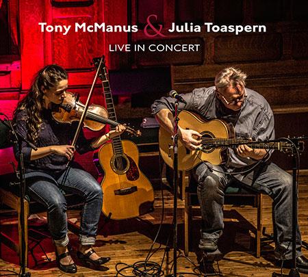 Tony McManus and Julia Toaspern - Live In Concert CD cover