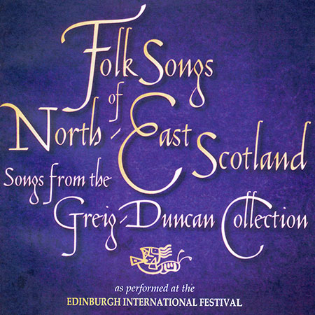 cover image for Folk Songs Of North East Scotland