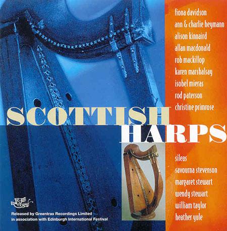 Scotish Harps CD cover