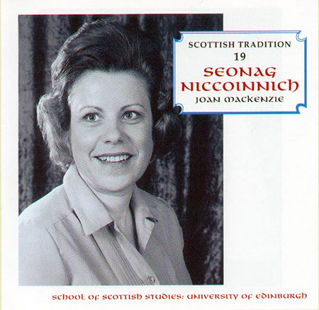 cover image for Joan MacKenzie - Seonag NicCoinnich (Scottish Tradition Series vol 19)