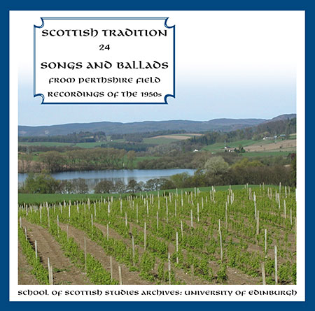 cover image for Songs & Ballads From Perthshire