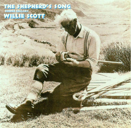 cover image for Willie Scott - The Shepherd's Song (Border Ballads)