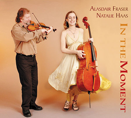 cover image for Alasdair Fraser & Natalie Haas - In The Moment