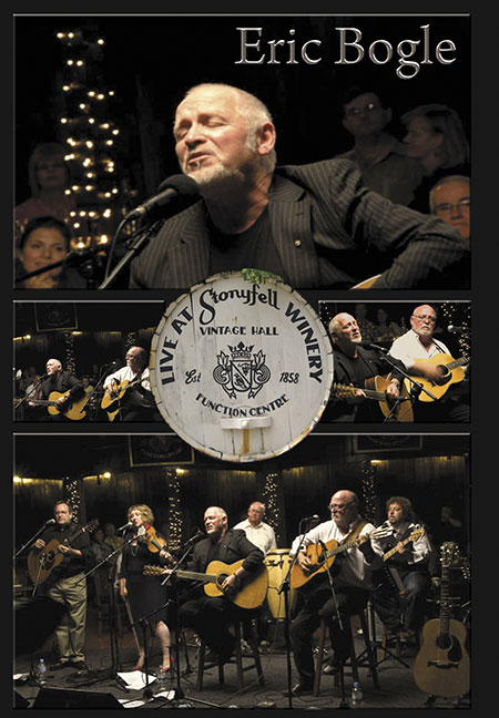 cover image for Eric Bogle - Live At Stonyfell Winery (DVD)