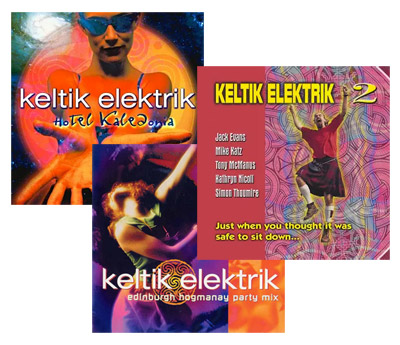 cover image for Keltik Elektrik Hogmanay Party 3CD Set