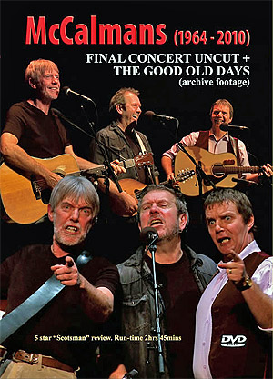 cover image for The McCalmans - Final Concert Uncut - The Good Old Days (DVD)