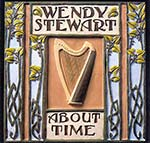 cover image for Wendy Stewart - About Time