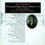 cover image for <mark>Jean</mark> <mark>Redpath</mark> - Songs Of Robert Burns vols 3 &amp; 4