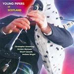 cover image for Young Pipers Of Scotland