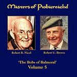cover image for Brown & Nicol - Masters Of Piobaireachd vol 5