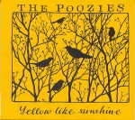 cover image for The Poozies - Yellow Like Sunshine