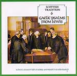 cover image for Gaelic Psalms From Lewis (Scottish Tradition Series vol 6)