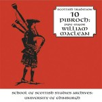 cover image for William MacLean - Pibroch (Scottish Tradition Series vol 10)