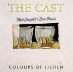 cover image for The Cast - Colours Of Lichen