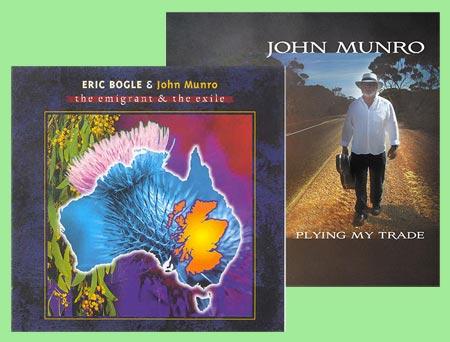 cover image for John Munro album offer