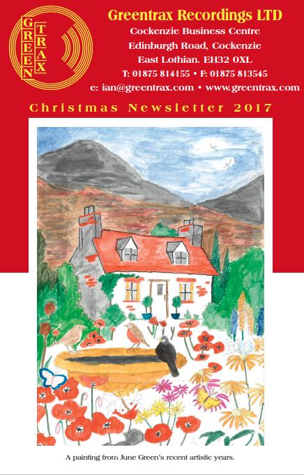 Christmas 2017 Newsletter