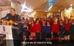 news article for Prestonpans School Children Perform at The Scottish Parliament