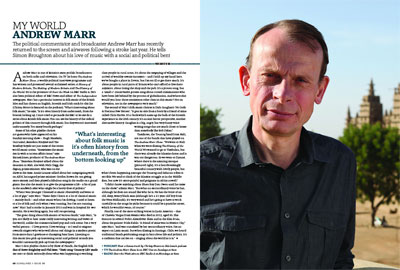 news article for Andrew Marr Picks Favourite Gaughan Track