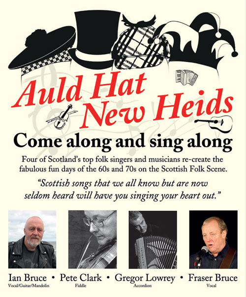 news article for Auld Hat New Heids in 2017