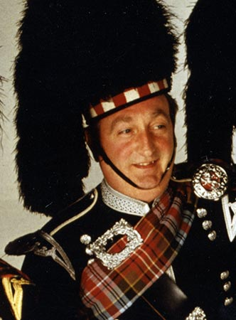 Pipe Major Iain McLeod