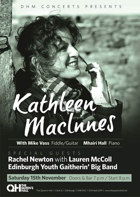 news article for Kathleen MacInnes in Concert