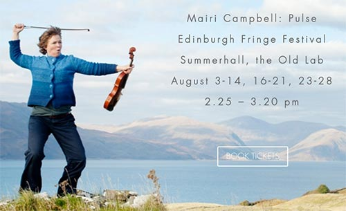 news article for Mairi Campbell: Pulse at the Edinburgh Fringe Festival